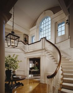 New home with gorgeous foyer and beautiful windows interior design sandra nunnerley  also rh pinterest