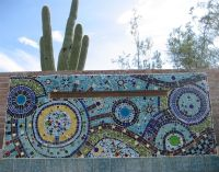 Wall: Awesome Mosaic Tile Walls: Mosaic Tile Walls   pool ...