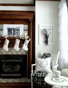 Christmas home decor ideas this is how  want to decorate my lots also neutral and white tour rh fi pinterest