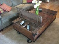 Factory Cart Coffee Table | Cool Shit for the House ...
