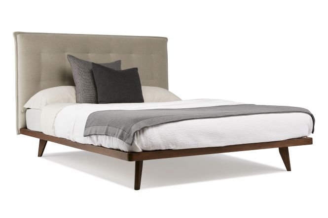 Austin Bed By Arthur G Upholstered Head With Solid Timber Frame Australian Made