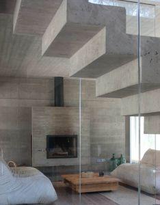 Gubbins arquitectos omnibus house modern but still earthy and cozy  also rh pinterest