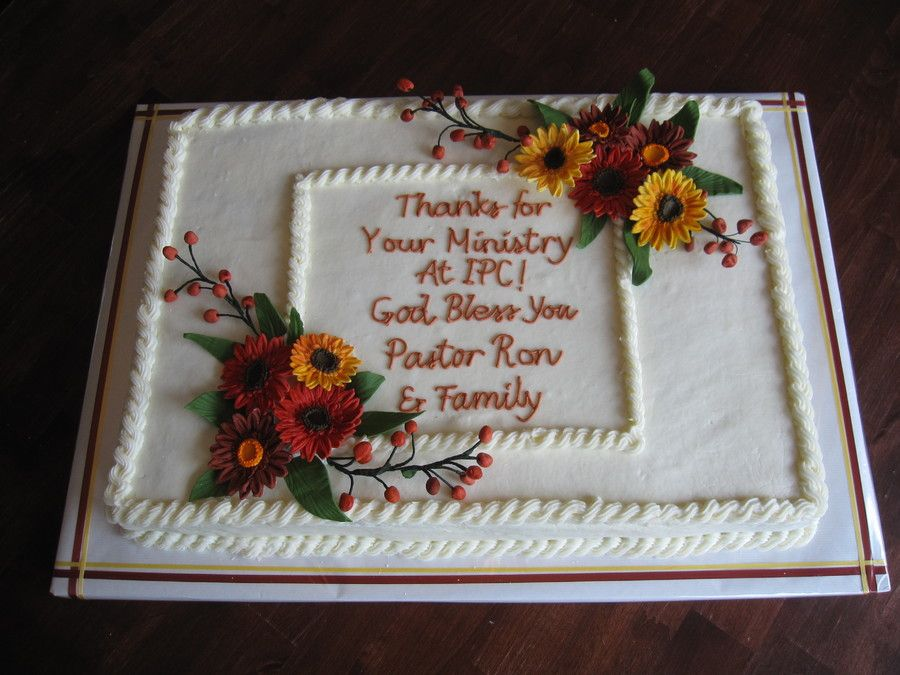 Pastor appreciation 10 ways to say it with cake the