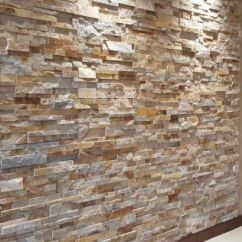 Brick Effect Kitchen Wall Tiles Best Stainless Steel Sinks 25+ Rock Panel Ideas On Pinterest | Bathroom ...