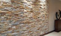 Interior Stacked Stone Veneer Wall Panels | Rock Veneer ...