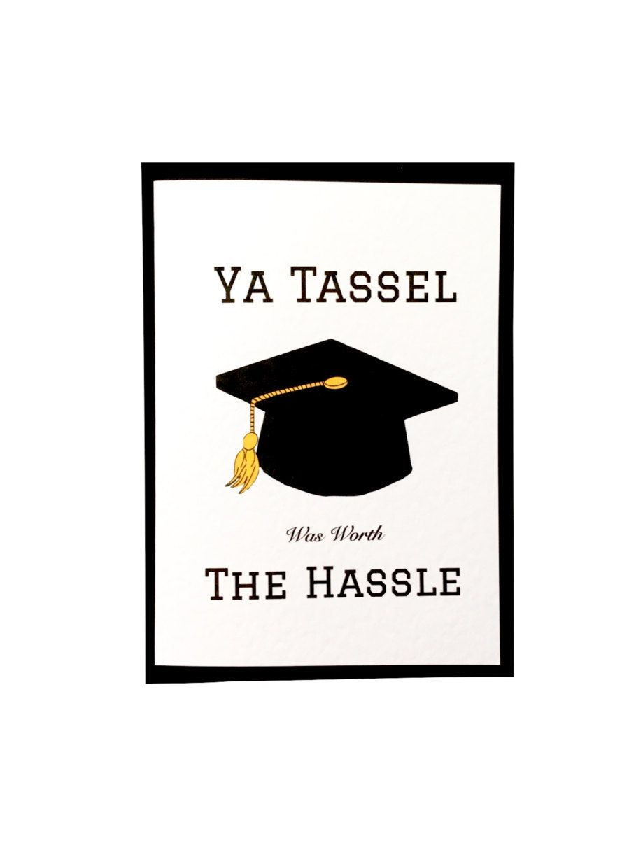 Graduation Card. Congratulations Card. Funny Graduation
