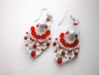 Beaded Earrings PATTERN | Christmas Bead Patterns ...