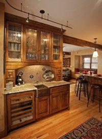 wet bar ideas   ... bars/micheal-taylor-custom-bar-cabinet ...
