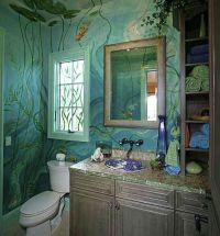 Bathroom Paint Ideas | bathroom painting ideas, painted ...