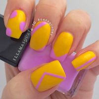 55 Abstract Nail Art Ideas | Abstract nail art, Spring ...