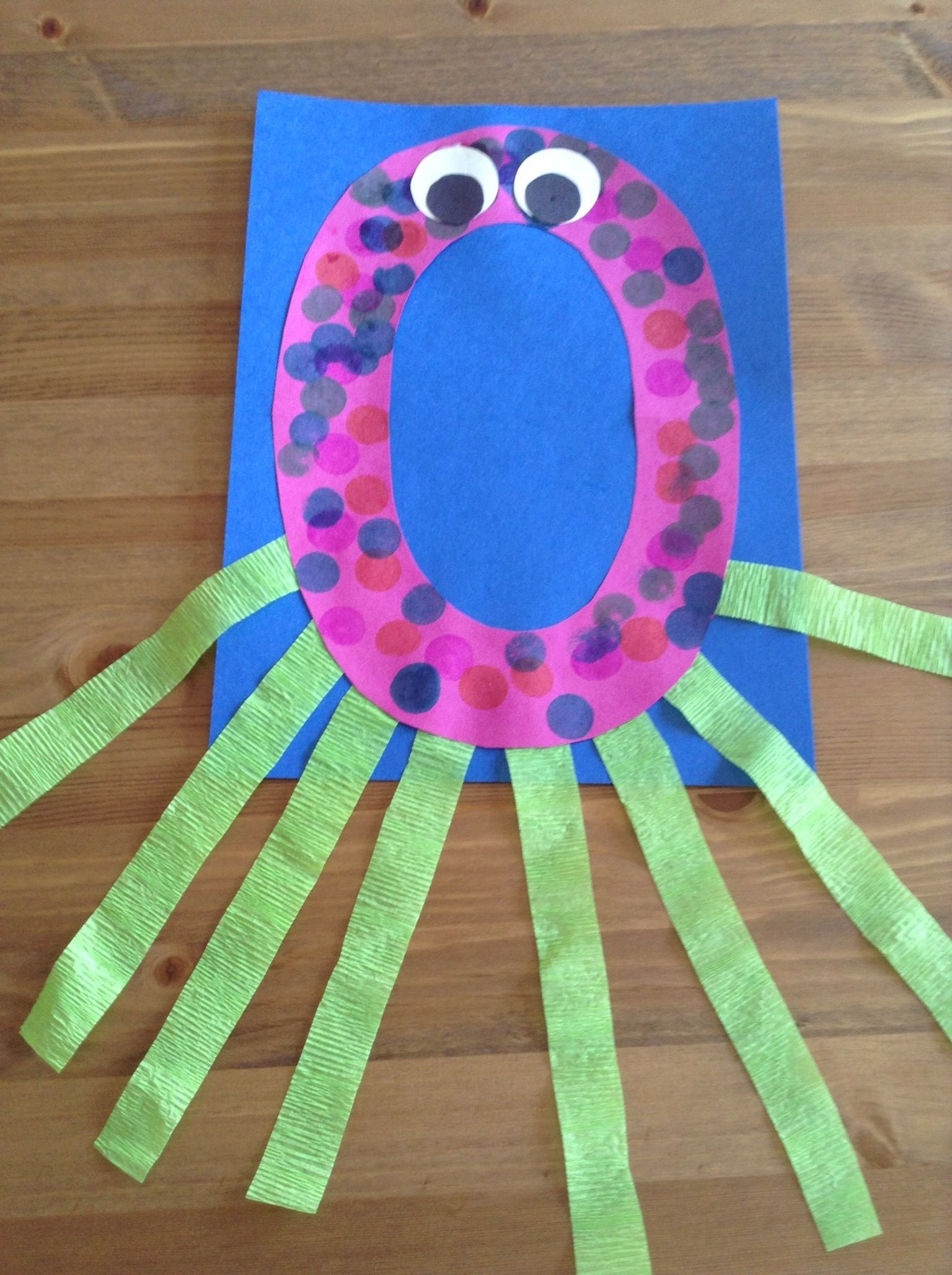 O Is For Octopus Craft