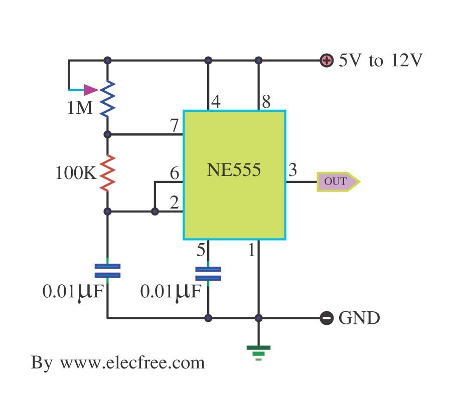 Pin 556 Timer Circuits On Pinterest