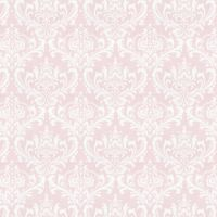 Large Classic Damask Print in Soft Pink for Baby Girls by ...