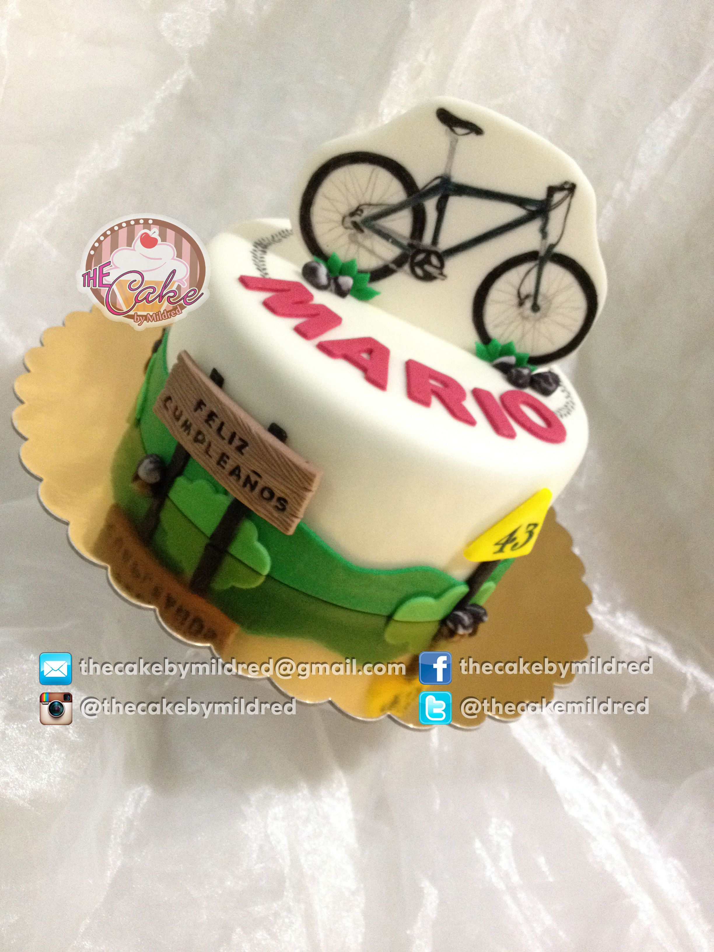 Another Mountain Bike Cake
