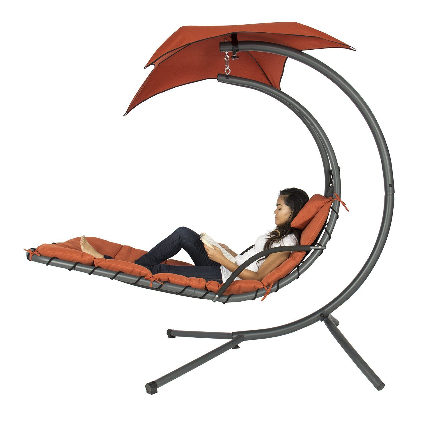 hammock chair stand amazon junior desk best choice products hanging chaise lounger