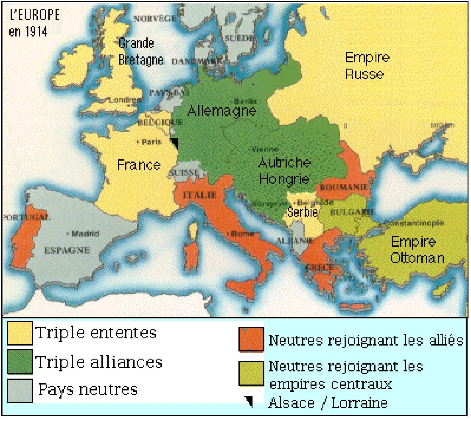 This Is A Map Of Europe In That Illistrates The