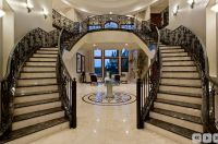 Traditional Staircase with Double staircase, Balcony, High ...
