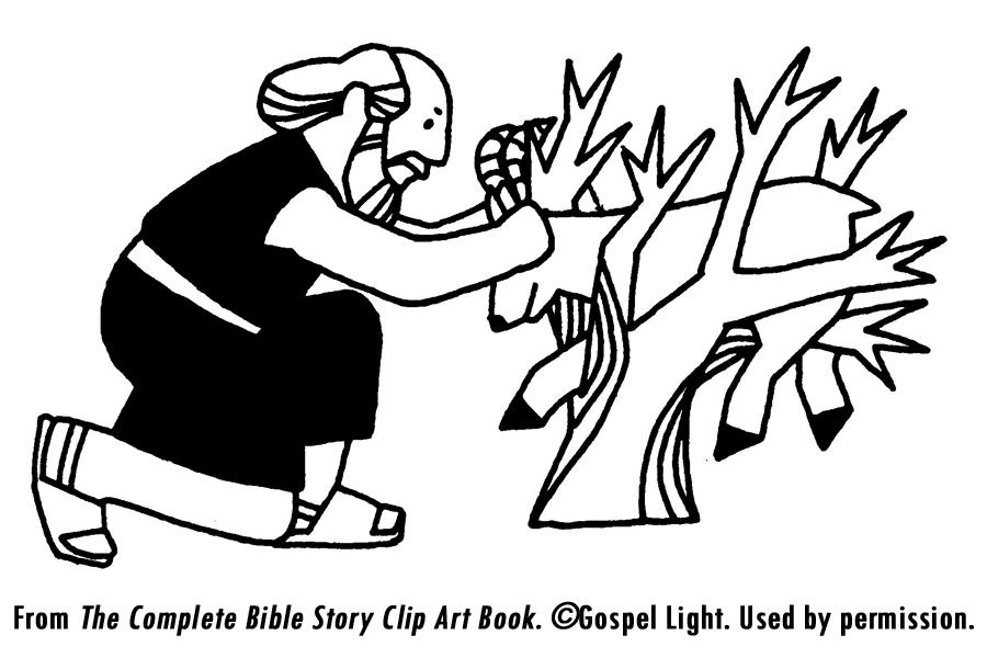 Abraham offert Isaac vertel, spel en knutsel ideeen