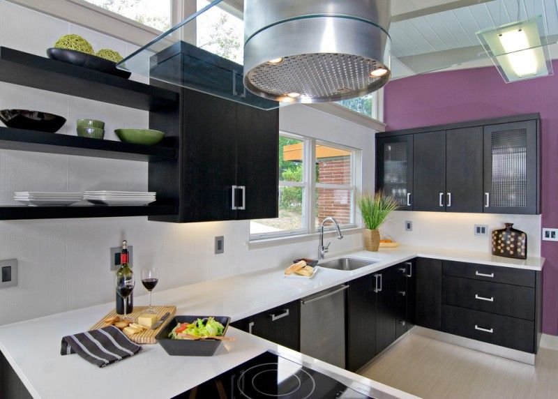 Kitchen Cabinets Clearance Dark Cabinet Wall Shelves Drawers Windows