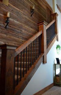 Rebar staircase unique farmhouse industrial rustic ...