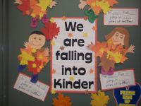 My Kindergarten Fall Door Decoration | My Classroom Pics ...
