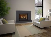 fireplace surrounds flush with wall | Fireplaces ...