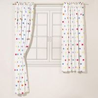 Rainbow Star Blackout Curtains for Kids (Pair) | quilt ...