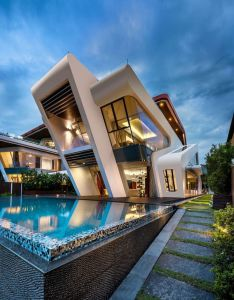 The perfect house villa mistral by mercurio design lab singapore also create  modern in rh pinterest