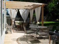 northwest backyard landscape ideas | pergolas five ...