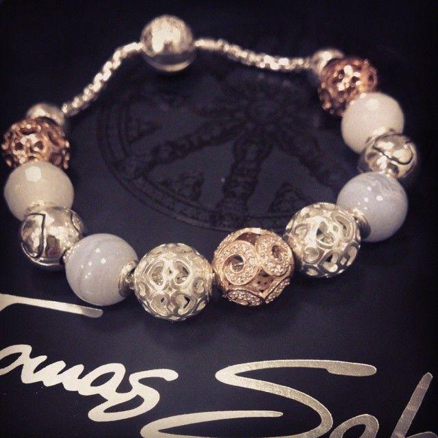 Thomas Sabo Karma Bracelet With rose gold and sterling