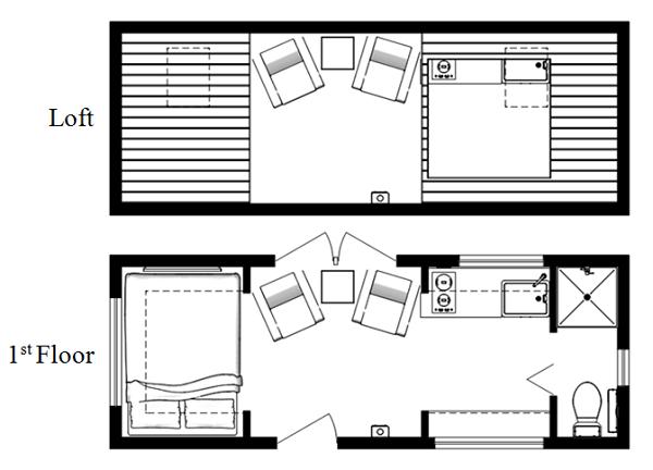 Tiny House Floor Plans 2 Bedroom – House Design Ideas
