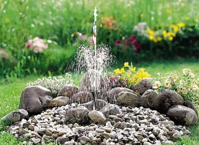 Diy Garden Fountain Ideas Backyard Fountains & Waterfalls