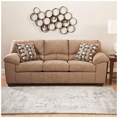 ashley harvest sleeper sofa balkarp signature by design ...