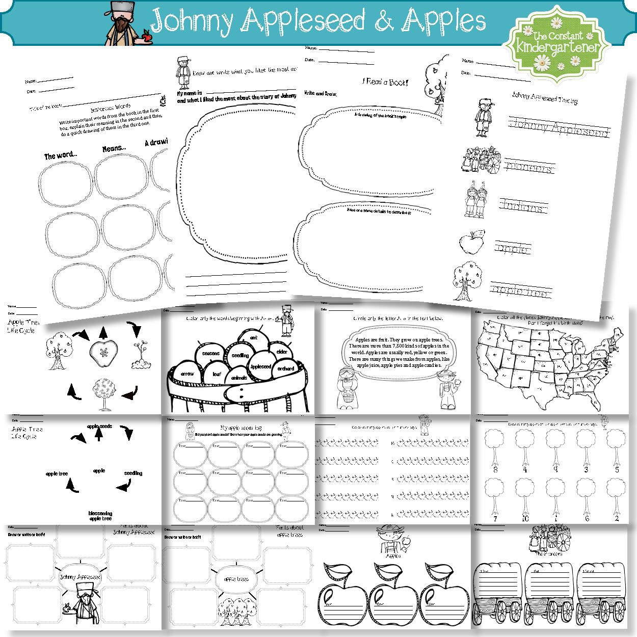 Johnny Appleseed And Apples Social Stu S