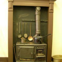 Kitchen Cook Stoves Cabinets Charlotte Nc Victorian Range With Wooden Floor And White Wall