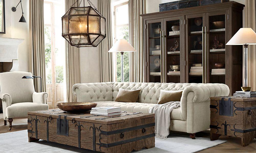 Best 25 Restoration hardware living room ideas on Pinterest  Restoration hardware Home living