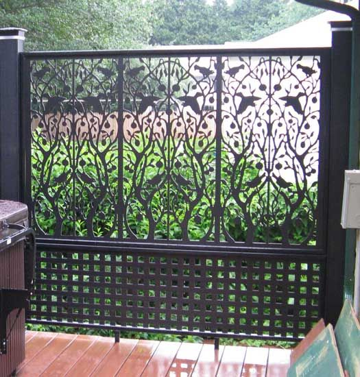 Lattice Fence Design Fence Design An And Vinyls