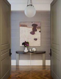 Daher interior design portfolio interiors contemporary transitional foyer hallway vignetteg ixlib  drails also rh pinterest