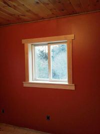 master bedroom window trim | Echo house | Pinterest ...