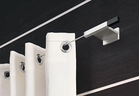 JAB ANSTOETZ Curtain Rods Thin Rod Tension JAB Pinterest