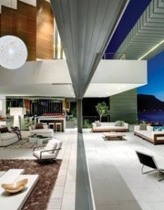 An amazing multi level house perched on the side of lion   head in cape town south africa by saota stefan antoni olmesdahl truen architects and also inside outside tropical living pinterest rh