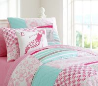Surf Patch Quilted Bedding | Pottery Barn Kids | Girl's ...