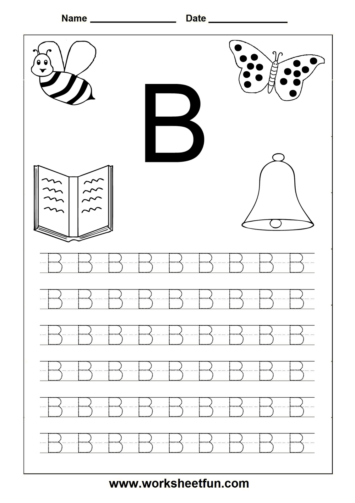 Free Printables For Letter Tracing Worksheets For