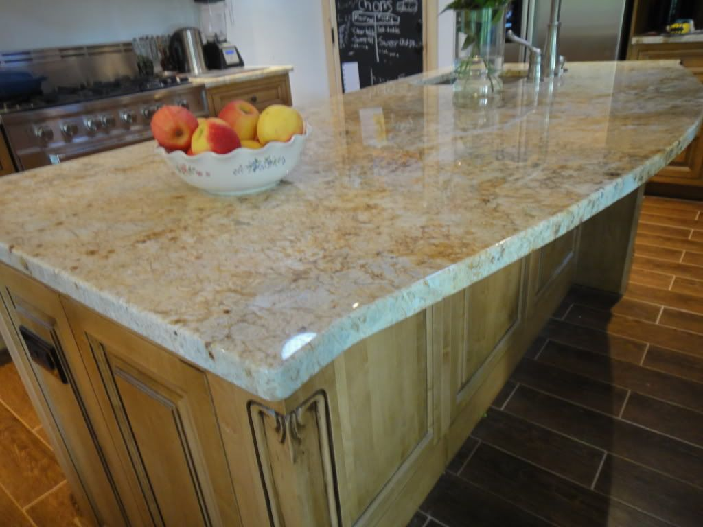 maple countertops kitchen aid bbq colonial gold granite with cabinets google search