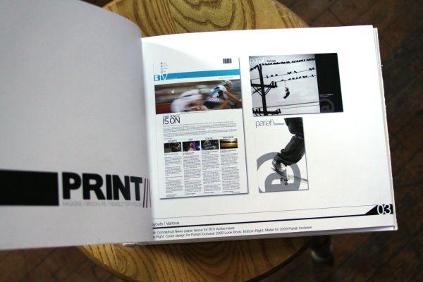 Graphic Design Portfolio Book Layout Examples And