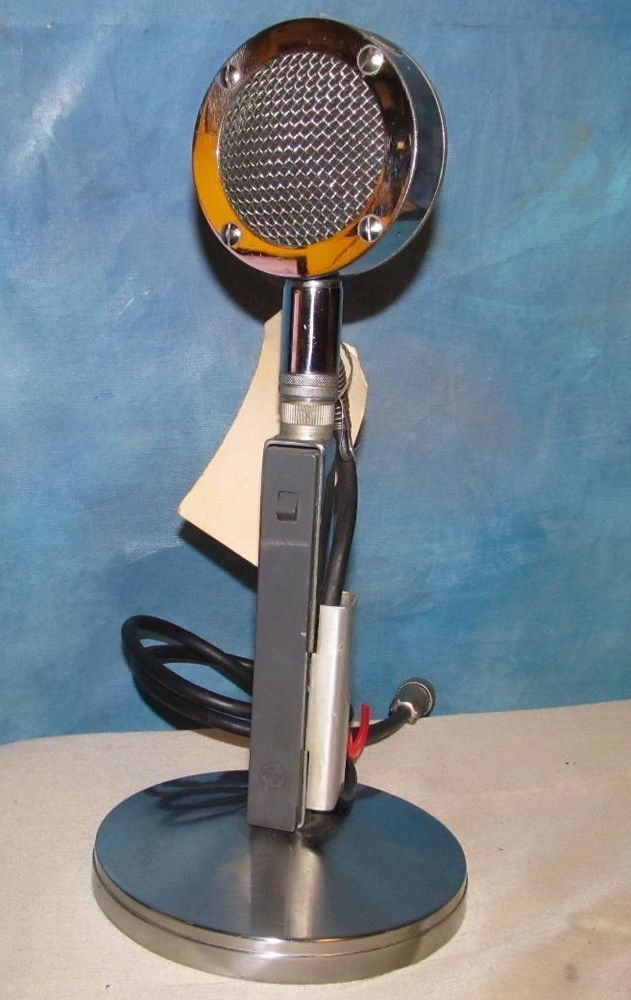 Home Cb Microphone Astatic D104m6b Dx1 Power Cb Microphone