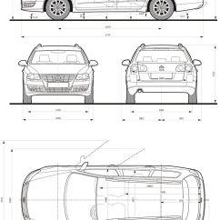 Vw Sharan 2005 Wiring Diagram Car Speaker Volkswagen Passat Variant Blueprint Database