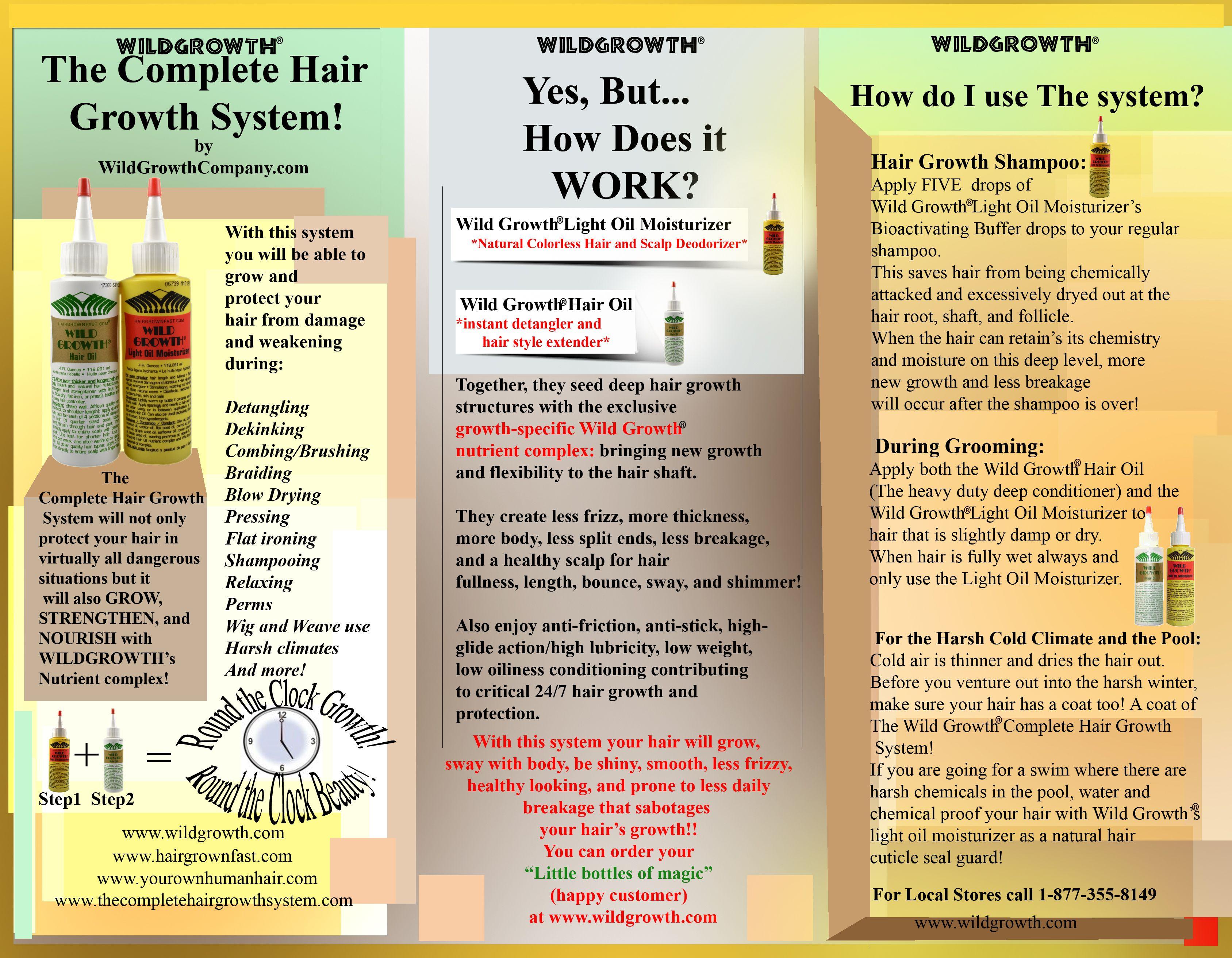 wild growth hair oil - Google Search | Natural hair ...