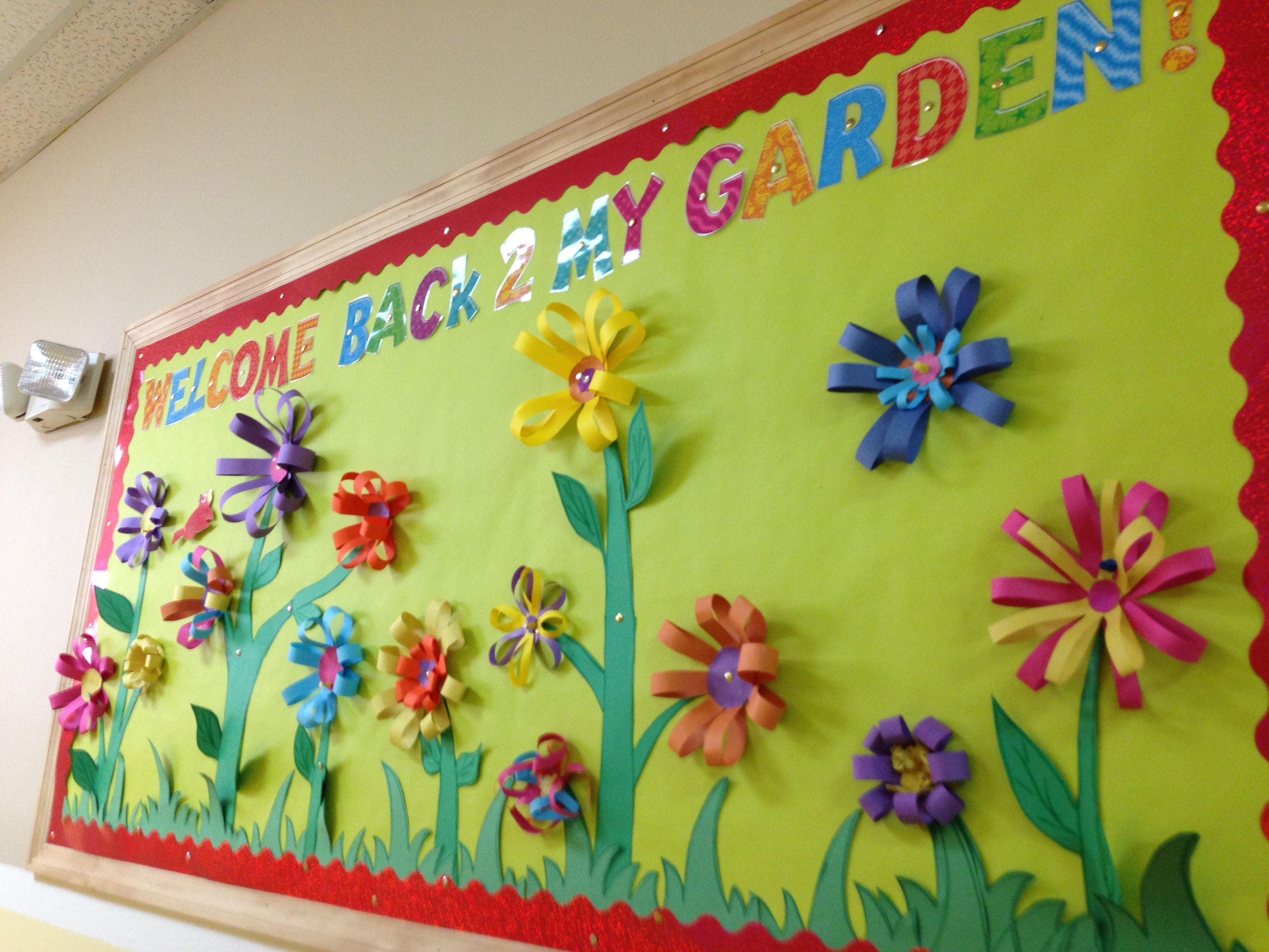 My Welcome Back 2 My Garden Bulletin Board! My Classroom