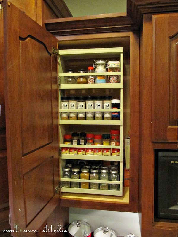 pull up kitchen cabinets outdoor cost swing out spice rack. so super cool! (hoh100)   hookin' ...